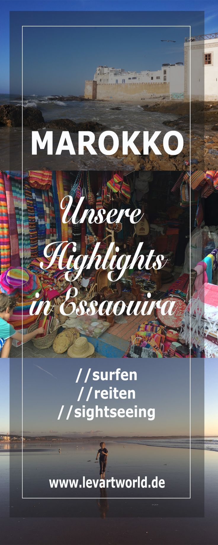 Tipps und Sehenswürdigkeiten in Essaouira – Marokko mit Kind. Tipps für Aktivitäten in Essaouira in Marokko. #holiday #summerholiday #travl #sea