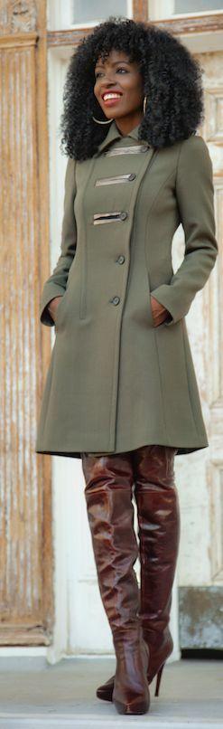 Top 25  best Military coats ideas on Pinterest | Women's military ...