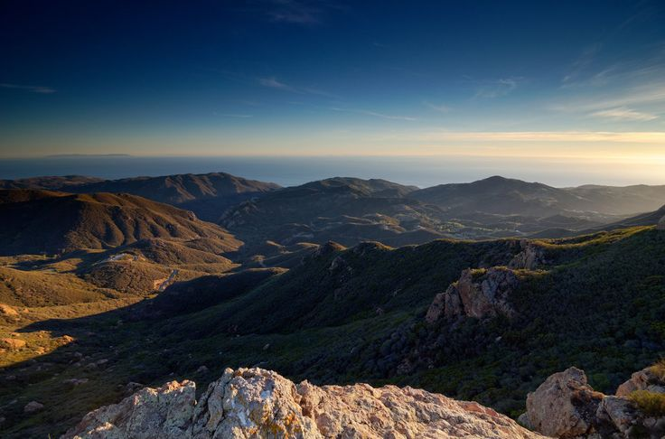 Sandstone Peak located in the Santa Monica Mountains is perfect for outdoor enthusiast.