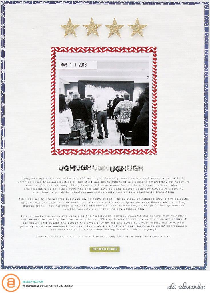 """Ali Edwards """"Tough"""" Story Kit™ Projects"""