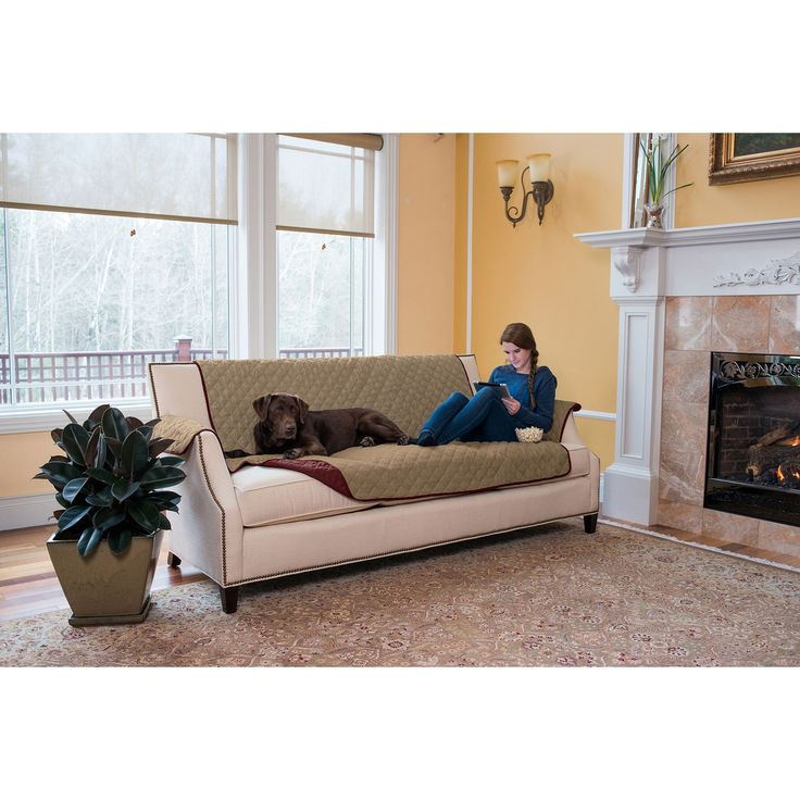 The kaylee collection furniture protector provides a for Couch 0 interest