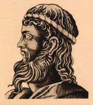 """Anaxímenes de Mileto(c. 590 a. C.–524 a. C.)1 fue un filósofo griego. Nació en Mileto. Fue discípulo de Tales y de Anaximandro, coincidiendo con él en que el principio de todas las cosas (y también el substrato que permanece invariable ante todos los cambios y el fin, o """"telos"""" al que todo vuelve) es infinito; aunque, a diferencia del ápeiron de su mentor, nos habla de un elemento concreto: el aire."""