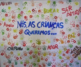 Idéias de murais/painéis para o Dia das Crianças - 12 de Outubro - Mundinho da Criança - Atividades para Educação Infantil