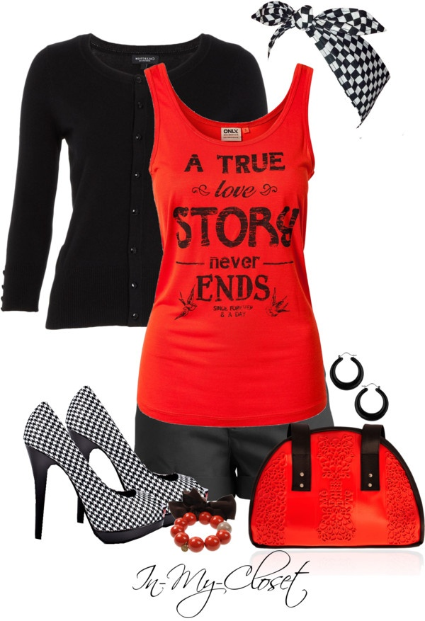 """""""Modern PInup"""" by in-my-closet on Polyvore"""