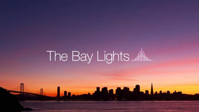 The Bay Lights - Artist Rendering 2 by Words Pictures Ideas. The Bay Lights is an iconic light sculpture designed by internationally renowned artist Leo Villareal. The sculpture will be installed and illuminated over the course of the Bay Bridge's 75th Anniversary, which extends from late 2011 to 2012.