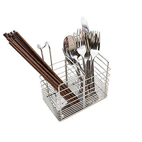 Hanging 2 Compartments Mesh Utensil Drying Rack/ Chopsticks/Spoon/Fork/ Tableware Dinner Service Holder/ Cutlery Organizer Caddy/ Flatware Storage Drainer,Square #Hanging #Compartments #Mesh #Utensil #Drying #Rack/ #Chopsticks/Spoon/Fork/ #Tableware #Dinner #Service #Holder/ #Cutlery #Organizer #Caddy/ #Flatware #Storage #Drainer,Square