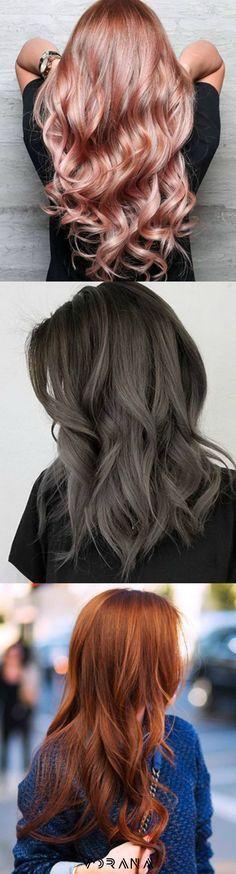 ¡Cambia de color! 3 tendencias de cabello para ésta temporada #Hair #Cabello #Look