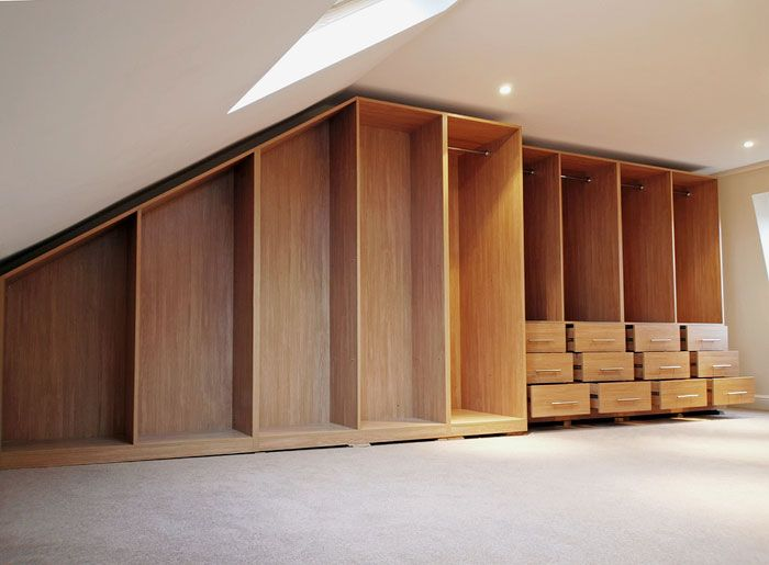 bespoke fitted loft wardrobes - Google Search