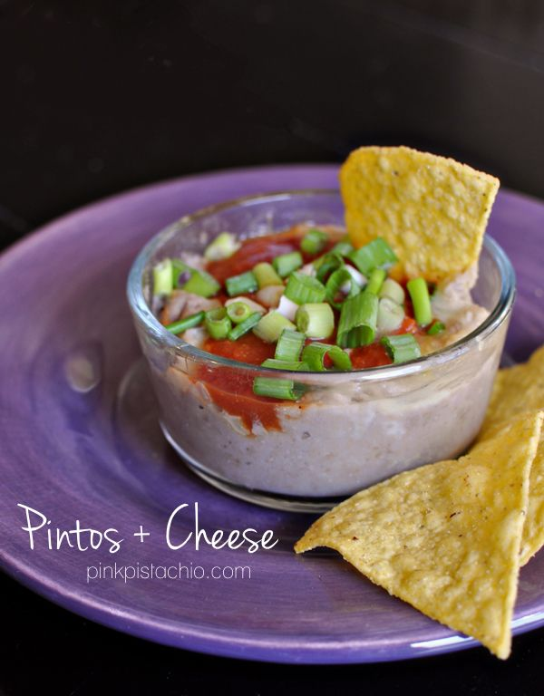 homemade pintos and cheese like Taco Bell. Recipe for homemade red sauce.  LOVE this lady's blog.