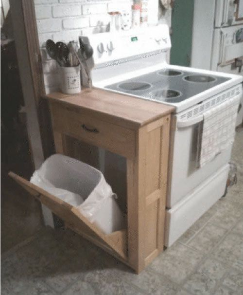 Kitchen Organization Ideas Small Spaces: Best 25+ Garbage Storage Ideas On Pinterest