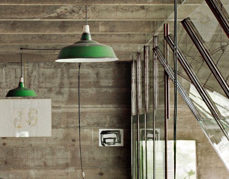 Construcción en la residencia Butantã de Paulo Mendes da Rocha