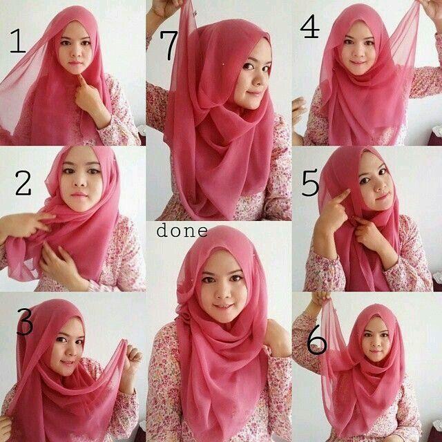 Hijab tutorial 7