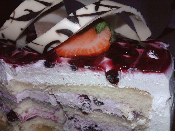 Yummy Blueberry Cake