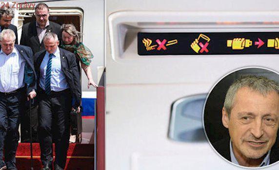 Zemanovo letadlo je bez panáků: Stropnický zakázal vládním letům tvrdý alkohol