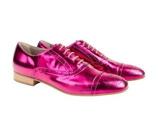 Papermache derby brogue from Habbot via The Third Row
