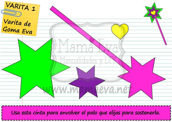 Busca en nuestra web muchas más plantillas para manualidades como estas: www.mamaeva.net