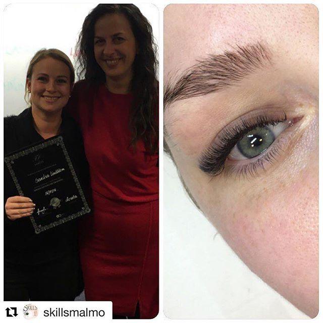 #Repost @skillsmalmo ・・・ Helgens advance russian Volume kurs är slut, intensiv helg men så underbart!! 😍 tack bästa @flawless_lashes_by_loreta #fransförlängning #eyelashextensions #fransförlängningmalmö #fransar #eyelashes