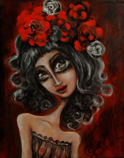 Paintings by Dana Stefania Apostol : Anna Karenina