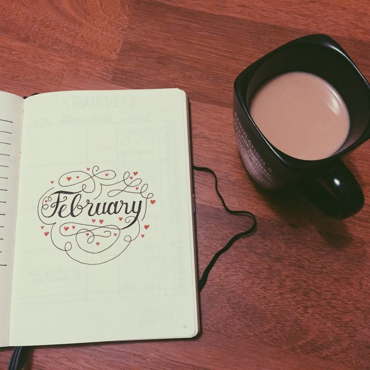 Bullet Journal Journey — It's February