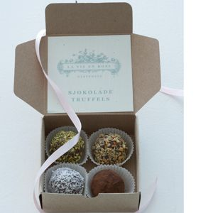 Sjokolade truffles