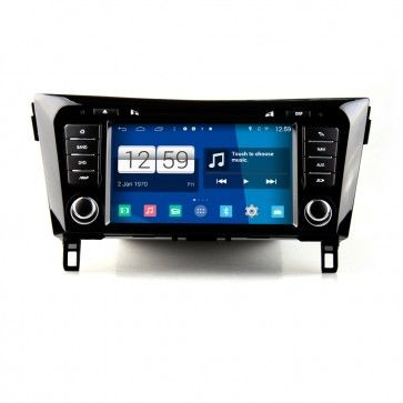Autoradio GPS DVD NISSAN 2014 Qashqai S160 Android 4.4.4 avec HD Ecran tactile Support Smartphone Bluetooth kit main libre Microphone RDS CD SD USB 3G Wifi TV MirrorLink
