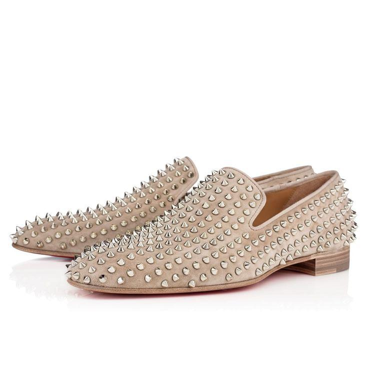 louboutin men's shoes - christian louboutin Dandelion smoking slippers brown and tan ...