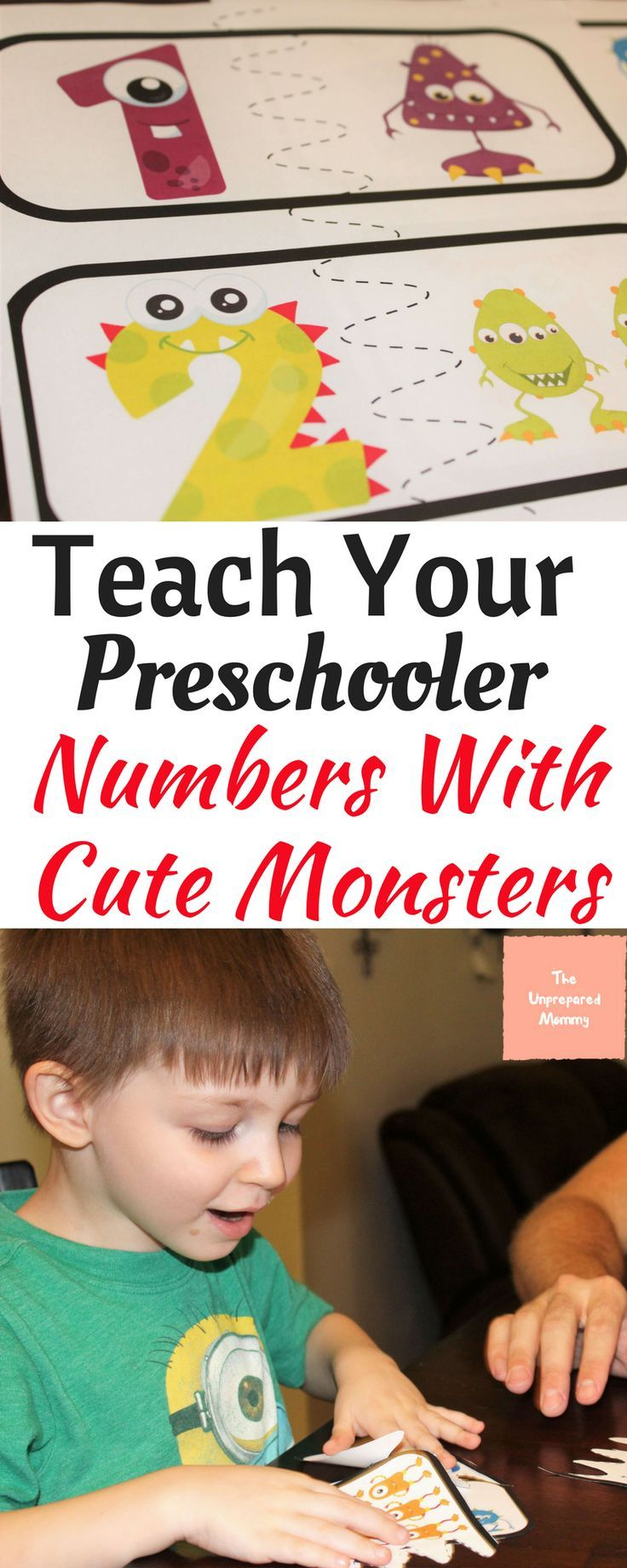 How To Teach Your Preschooler Numbers with