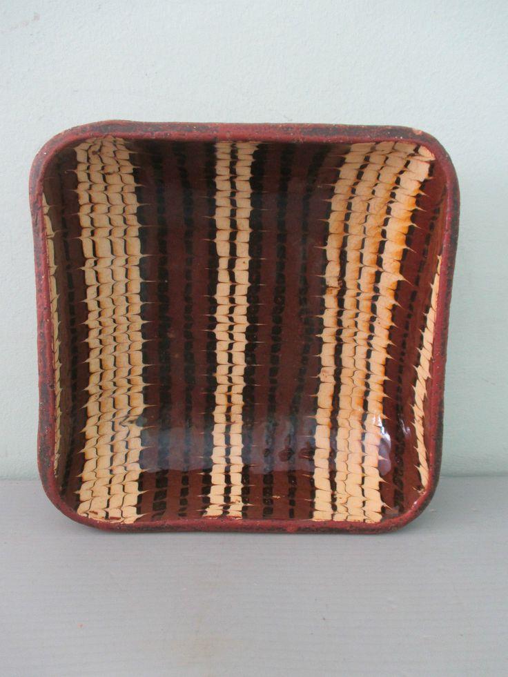 Vintage Slipware Dish