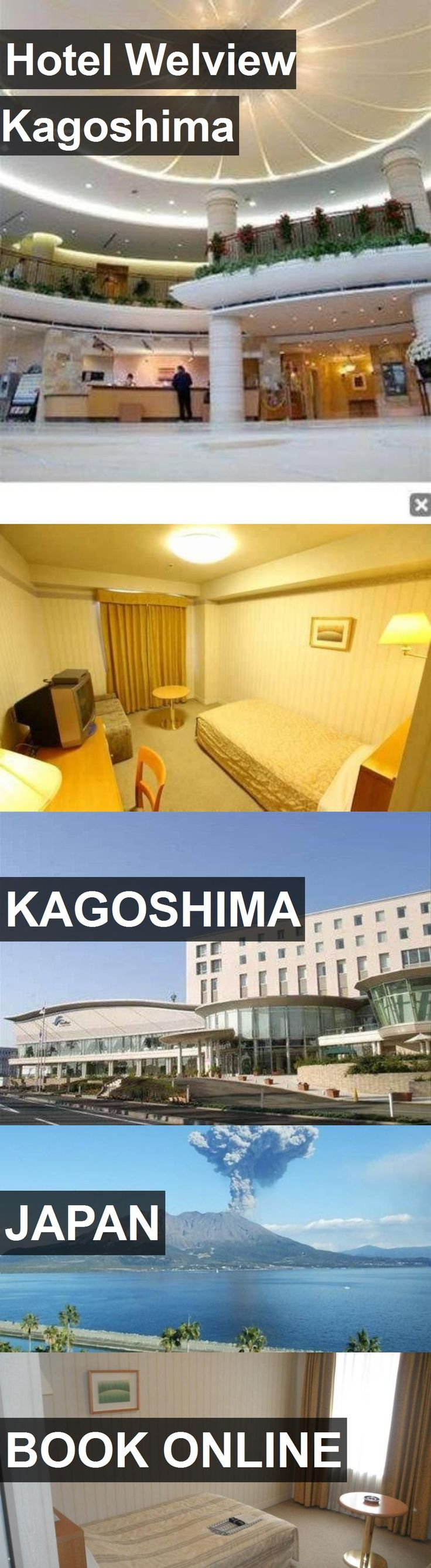 Hotel Hotel Welview Kagoshima in Kagoshima, Japan. For more information, photos, reviews and best prices please follow the link. #Japan #Kagoshima #hotel #travel #vacation