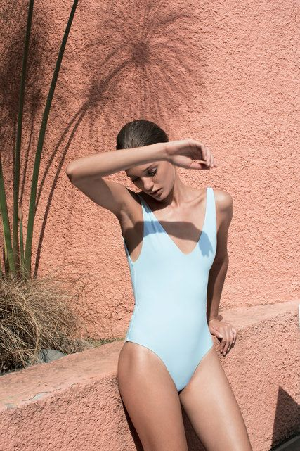 Tuyen Nguyen and Michael Lim launched Her, a line of minimal one-pieces and bikinis.
