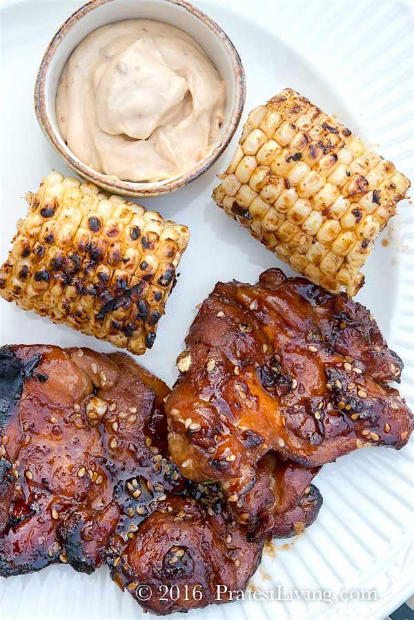 Korean BBQ Chicken from Chef Judy Joo at Jinjuu in London and Hong Kong / PratesiLiving.com