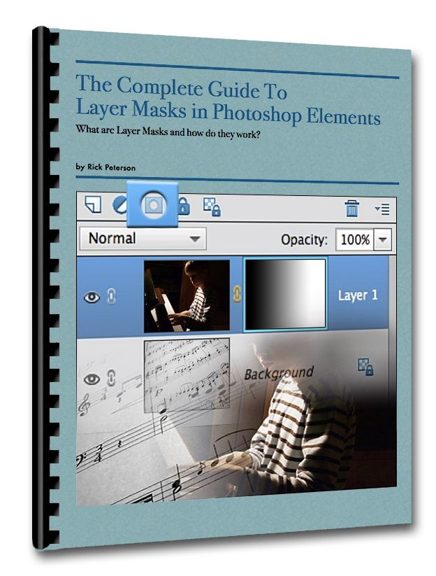 "Guide To Layer, Masks Rick Peterson -Because Layer Masks can be so confusing, I included a question box in the replay window. So here's what I recommend:  STEP 1 - Use the link to go to the replay page.  STEP 2 - Download the notes.  STEP 3 - Watch the replay video.  STEP 4 - Click the ""Question"" tab and ask any questions you have about Layer Masks."