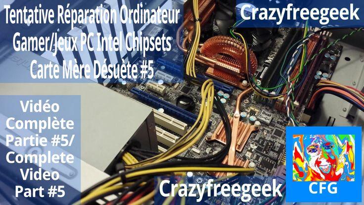 Nouvelle Vidéo YouTube Tentative Réparation Ordinateur Gamer/Jeux PC Intel Chipsets Carte Mère Désuète #5 [LITE/FR/HD] Sur Crazyfreegeek =D #Repairing #Repair #Réparation #Ordinateur #Computer #PC #Intel #Chipset #MSI #Motherboard #Cartemère #Informatique #Gamer #Gamerpc #PCgamer #Antec #AMD #Nvidia #Tech #Geek #YouTube #Crazyfreegeek  https://youtu.be/DmIz_VWXx-E