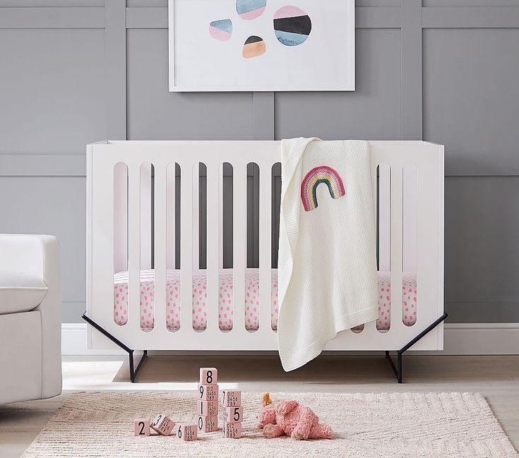 Ellis Convertible Crib In 2020 Cribs Convertible Crib