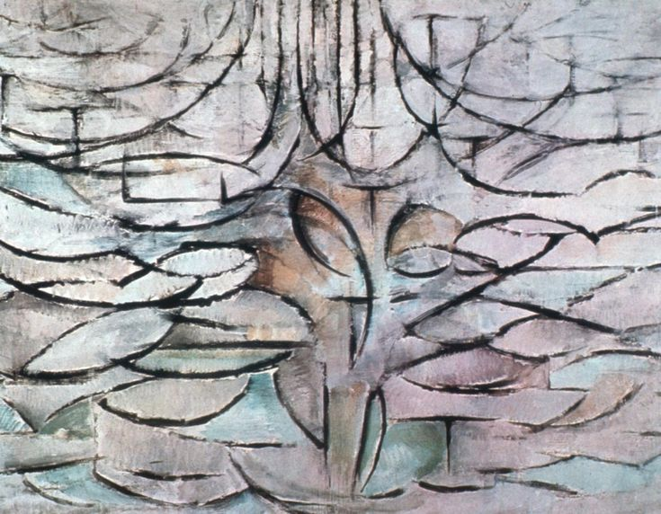 Mondrian, Tree progression.