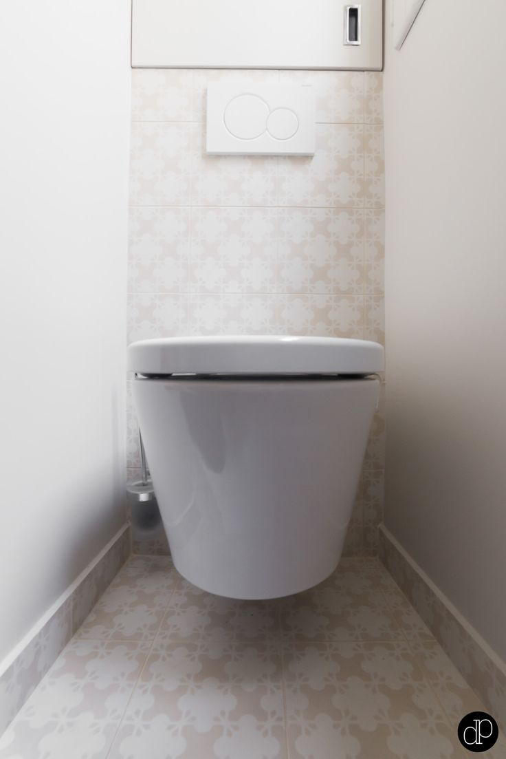 Wc suspendu toilettes pinterest - Deco toilettes taupe ...
