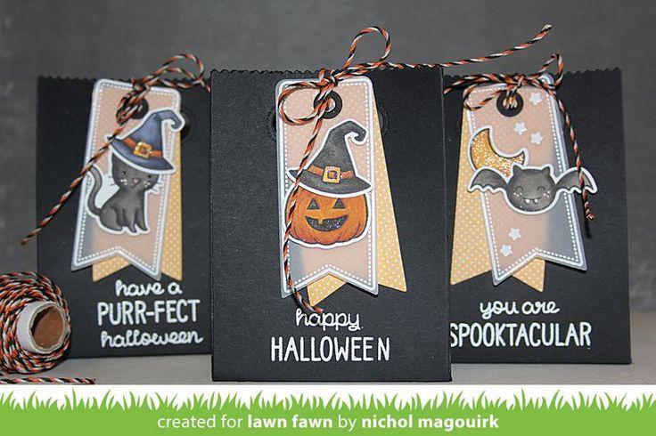 nichol magouirk: Lawn Fawn August Inspiration Week | Goodie Bag + Spooktacular