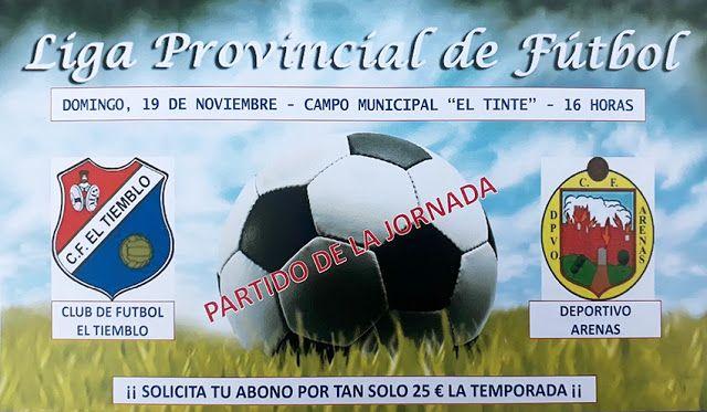 TietarTeVe en Gredos: 19 Noviembre: Partido de fútbol: C.F. El Tiemblo V...