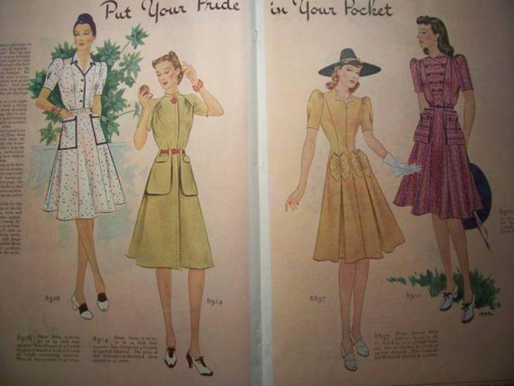 Secondo appuntamento della nostra rubrica dedicata alla storia della moda oggi parliamo di: sobrietà e semplicità, le caratteristiche della moda femminile degli anni Quaranta. Facciamo insieme un tuffo nel passato ripercorrendo insieme la moda degli anni '4o. Nel 1939, con lo scoppio della