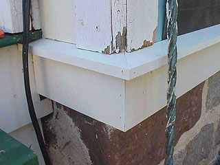 How To Build Traditional Water Table Trim With Cellular PVC Trim Boards - Exterior Siding Details