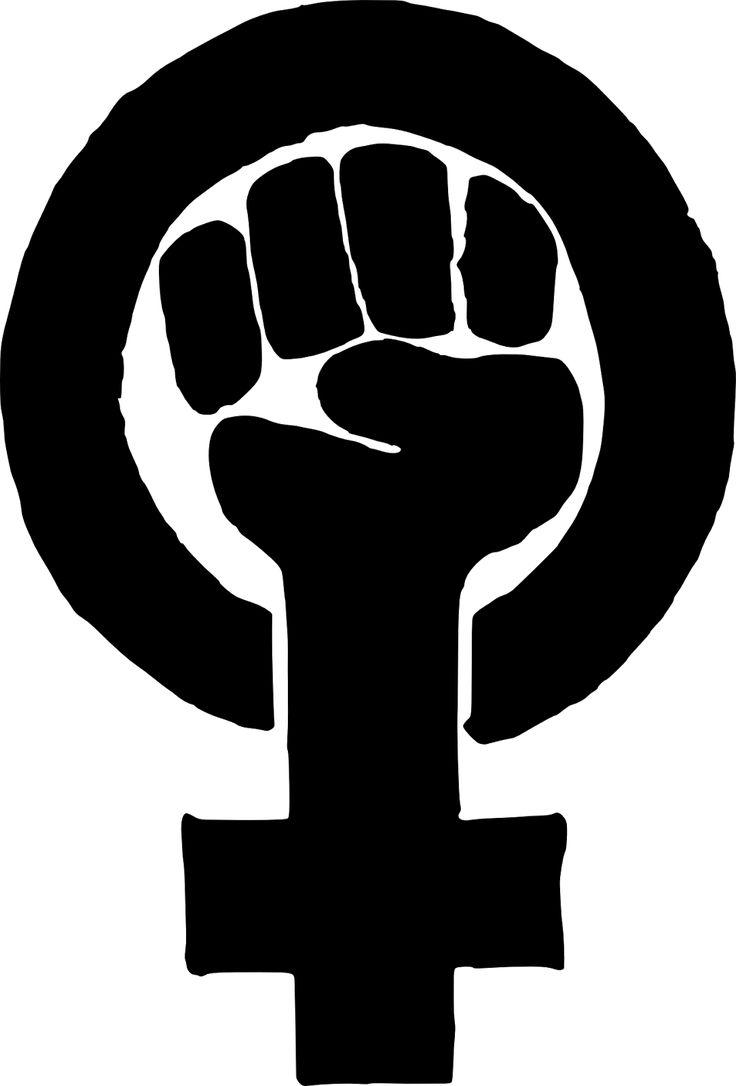 Black power fist tattoo