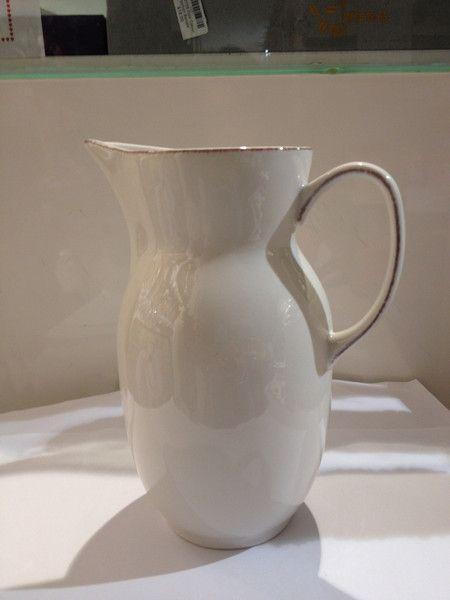 AL010 Ceramic Jar White
