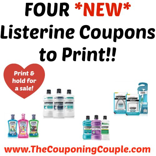 PRINT YOURS AND HOLD FOR A SALE! FOUR *NEW* Listerine Coupons to Print!!  Click the link below to get all of the details ► http://www.thecouponingcouple.com/four-new-listerine-coupons-to-print/ #Coupons #Couponing #CouponCommunity  Visit us at http://www.thecouponingcouple.com for more great posts!