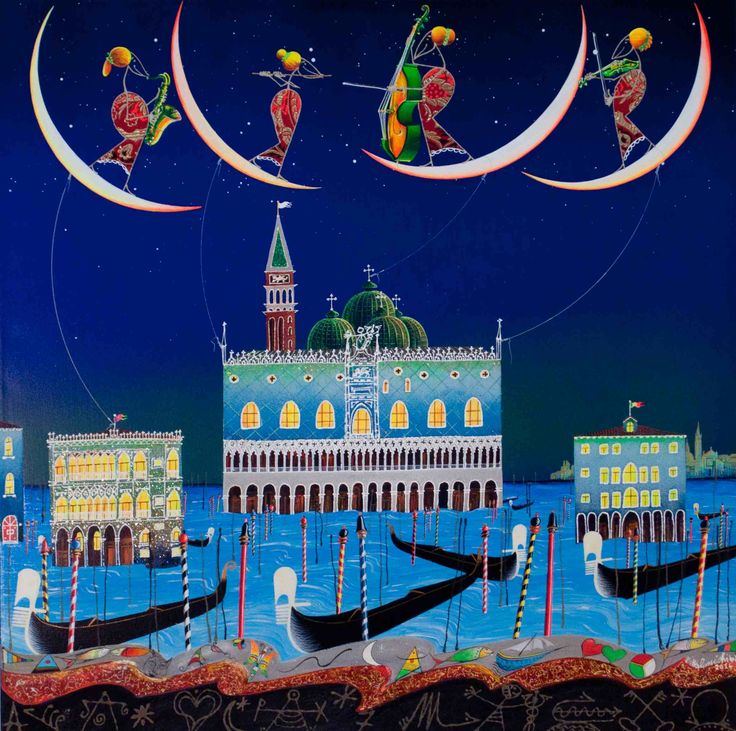 Venezia http://www.pisacanearte.it/index.php/artisti/m/meloniski-da-villacidro/opere-uniche-meloniski-da-villacidro/meloniski-da-villacidro-venezia-tecnica-mista-su-tela-80x80-cm.html