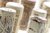 Make good use out of your cork collection with a rustic trivet.