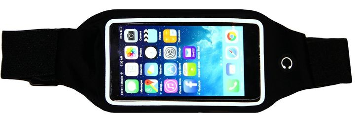 Liujie Running Belt for the iPhone 6 / 6S (4.7), iPhone 5, 5S, Samsung Galaxy S6, S5, S4 S3, Moto X, HTC One and more (black). ★COMPATIBILITY: Compatible with the iPhone 6 (4.7), iPhone 5/5S, iPhone 4/4S, Samsung Galaxy S6, S5, S4 S3, Moto X, HTC One phones and more. ★PROTECTION: Protects and keeps your phone safe from moisture. ★USE: Headphone access point and transparent protective screen for touch screen functionality. ★STORAGE: Convenient pouch for id, cards, cash and key storage....