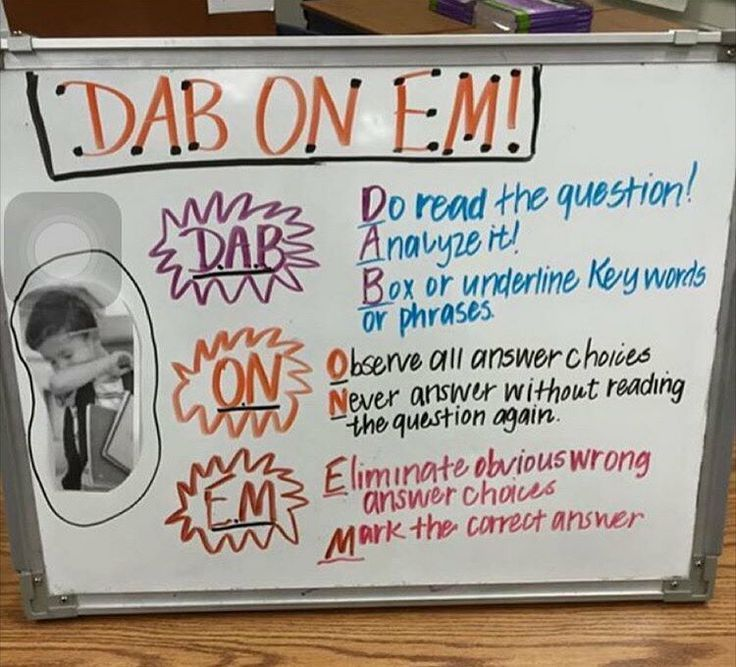 Hit the Quan is now outdated. Here's a dab on em chart for test prep.