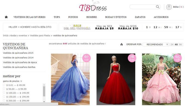 tbdresses 15 años  Una de las partes más importante de toda fiesta es escoger el vestido de 15 años, pero no cualquier vestido. Escoger el vestido perfecto para la tem...