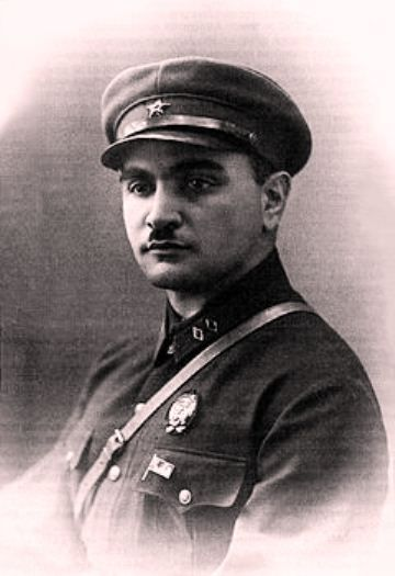 Jamshid Jafarqulu oglu Nakhichevanski (August 10, 1895 Nakhchivan - August 26, 1938 Moscow) - general, commander of a brigade. He was a  commander of a Muslim cavalry squadron at the First World War was, participated  in breakage of Brusilov Front, J. Nakhchıvanski having been wounded thrice at Austro-Romanian front he was awarded with silver weapon as a brave cavalry officer. J.Nakhichevanski returned together with cavalry to Azerbaijan and on September 15, 1918.
