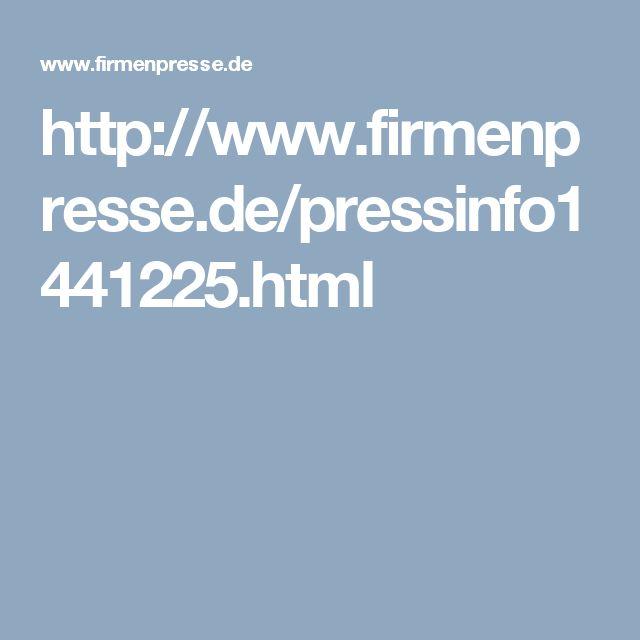 http://www.firmenpresse.de/pressinfo1441225.html